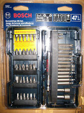 NEW Bosch T4047 / 47 Piece Screwdriver Bit Set