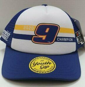 Chase Elliott Youth 2020 Nascar Cup Series Championship Snapback Boy's Hat