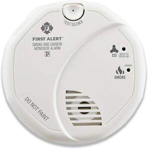 First Alert Powered Alarm SCO5CN Combination Smoke & Carbon Monoxide Battery np