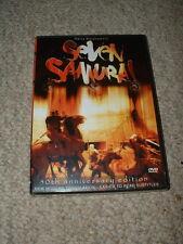 50th Anniversary Edition Seven Samurai Dvd Akira Kurosawa Nip Sealed