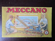 CATALOGUE MECCANO BOITE  N°1 1948/54 20 PAGES