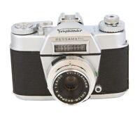Voigtlander Bessamatic Camera, With 50mm f/2.8 Color-Skopar X Lens - EX