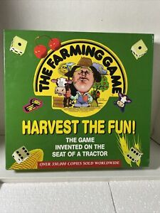 The Farming Game Board Game Harvest The Fun Weekend Farmer Great Condition 1996