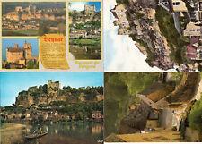 Lot 4 cartes postales DORDOGNE BEYNAC