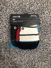 Stance Socks Baby Unisex 3-6 Months 3-Pack Set (Metallica)
