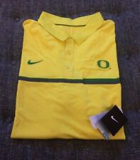Nwt Nike Drifit Oregon Ducks Polo Shirt Mens Big&Tall Size 4XL Yellow D7
