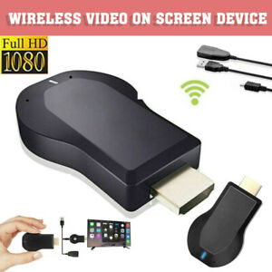 1080P WiFi Display Wireless TV Stick DLNA Dongle HDMI anycast Airplay Empfänger
