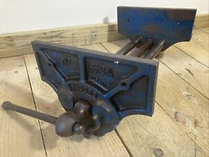 Vintage Record 53 A quick release carpenters vice 10 1/2 Jaws