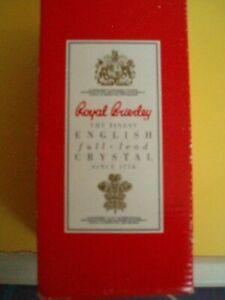 Royal Brierley Fuschia Glass New Unused
