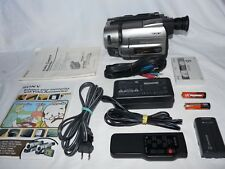 Sony Handycam CCD-TRV85 8mm Video8 HI8 Camcorder Player Stereo Video Transfer