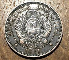 PIECE DE 2 CENTAVOS ARGENTINE 1891 (184)