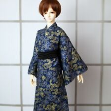 """BJD Japan Kimono Classical Dragon Outfits For Male 1/3 24"""" BJD SD AOD AS MK Doll"""