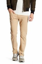 AG Adriano Goldschmied Matchbox in Sahara Slim Straight Twill Pant 28 X 34 ½