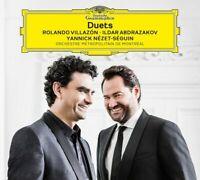 ROLANDO VILLAZON & ILDAR ABDRAZAKOV Duets CD BRAND NEW Digipak DGG