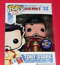 NEW ~ FUNKO Pop ~ TONY STARK ~ Iron Man 3 ~ Marvel ~ SDCC 2013 EXCLUSIVE