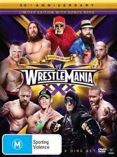 WWE - Wrestle Mania XXX (DVD, 2014, 3-Disc Set) - Region 4