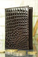 Geldbeutel Geldbörse KRALLE, NEU Krokodils-Leder. Wallet, crocodile, NEW! 1559