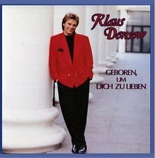 Klaus Densow Geboren, um dich zu lieben [CD]