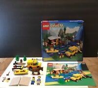 Lego Classic Town 6552 Rocky River Retreat Box Manual ( For Parts )