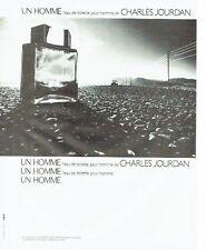 PUBLICITE ADVERTISING 027  1980  eau toilette Un Homme par Charles Jourdan 2