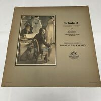 "Schubert Unfinished Symphony/Brahms Variations 12"" 33rpm Angel Records Vinyl"