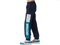 ASICS Tiger Mens Track Pants SIZE XL X-LARGE Blue Joggers Workout 2191A101 NEW