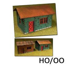 Proses 1/87: PLS-004 2 Maison de vacances/2 Gîtes ruraux Lasercut Kit,non peinte
