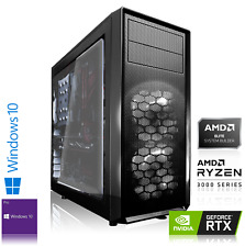 Gaming PC AMD Ryzen5 3600 | RTX 3080 10GB | 16GB | 480GB SSD+1TB HDD | Win10 Pro
