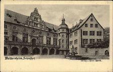 Weikersheim AK ~1910 Schlosshof Schloss Innenhof Verlag Emil Barth ungelaufen