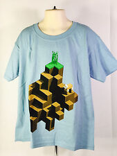 Minecraft PLAINS T-Shirt (Youth MEDIUM) (YM) Loot Crate Mine Chest June 2017