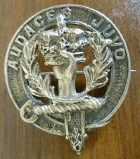 VINTAGE AUDACES JUVO Scottish Clan Brooch Badge Genuine*