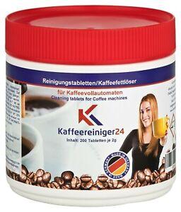 25 bis 200 Reinigungs Tabletten 2g für Kaffeevollautomaten / Vollautomaten