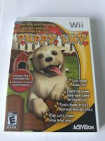 Nintendo Wii Puppy Luv Your New Best Friends 2007 COMPLETE