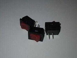 THREE MTD / TROYBILT / TORO MOMENTARY STOP ENGINE TOGGLE SWITCH PART# 791-182405