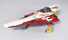 Lego Star Wars Set 7143 - Jedi Starfighter - Complete Except for Lightsaber