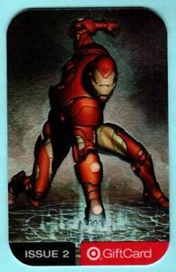 TARGET Iron Man 2004 Chromium Gift Card ( $0 )