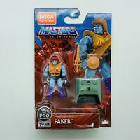 "Masters of the Universe Faker He Man Mega Construx MOTU 2"" Building Figure Toy"