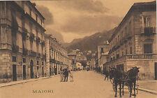 NP7911 - MAIORI SALERNO - CORSO NON VIAGGIATA