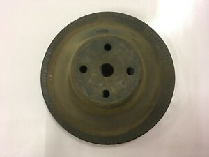 Small Block Chevy Single Groove Water Pump Pulley Camaro Corvette Chevelle