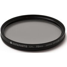 """AGFA Circular Polarizing Glass Filter (CPL), 72mm 72 APCPL72 """