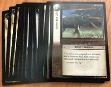 LOTR TCG Lord of the Rings SIEGE OF GONDOR Uncommon Set INCOMPLETE 19/40 Cards