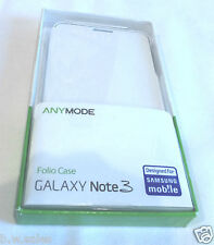 Samsung Licensed Folio Phone Case Cover for Samsung Galaxy Note 3 Anymode White