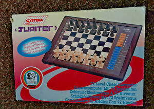 Systema Jupiter 72 Level Chess Computer Boxed Working Model 5T-932