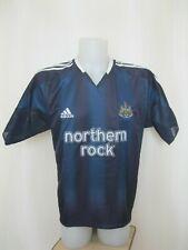 Newcastle United 2004/2005 away Sz M adidas soccer shirt jersey football maillot