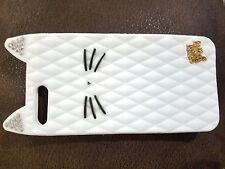 TPU Katy perry kitty purry cat Metal Brand diamond glitter case For Apple phone