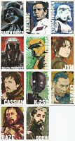 """Star Wars Rogue One Series 1 ~ """"CHARACTER ICON"""" 11-Card Insert Set (CI-1~CI-11)"""