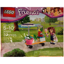 LEGO Friends SET 30202 Smoothie Stand mixer wagon umbrella apple money NEW!