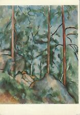 Paul CEZANNE (1839-1906) - Pines and rocks
