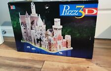 PUZZ 3D Alpine Castle 1000 Piece 3D Jigsaw Puzzle - COMPLETE - Challenging