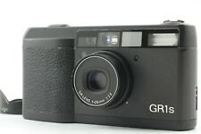 【MINT / LCD Works】  RICHO GR1s Black Point & Shoot Film Camera From JAPAN #352